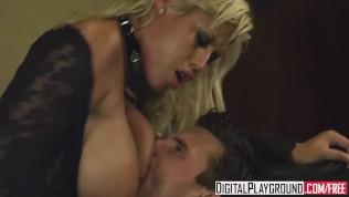Digital Playground - Busty blonde Bridgette B likes it rough