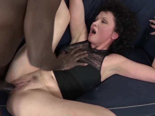 Amateur fucked by old black man