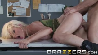 BRAZZERS - Military slut Alexis Ford will do anything to get the job done