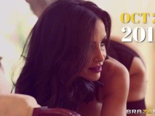 BRAZZERS - Slutty boxer Jenaveve Jolie, needs a preworkout massage and stretching