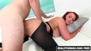 Reality Kings- Sexy ginger milf Janet Mason gets Levi Cash's younger cock