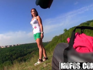 Mofos - Euro teen gets fucked at photoshoot for a lil more cash