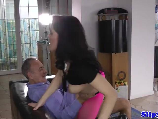 Teen Fucking Her Ass Dildo