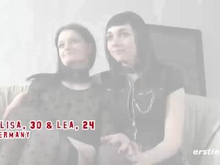 Amateur Lesbians Into Light Bondage Lick each other