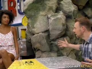 Ebony Luna Corazon Offers Anal For Job
