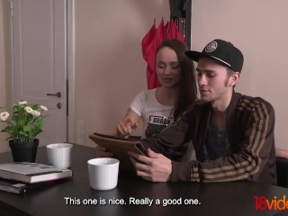 18videoz - Alice Koks - Sex present for slutty wife
