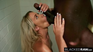 BLACKEDRAW Beautiful Teen Khloe Kapri's First BBC!