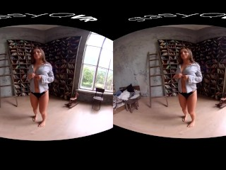 Amateur teens teasing and showing their hot bodies in this VR compilation