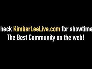 Young Kimber Lee Gives A Dirty Talking FootJob