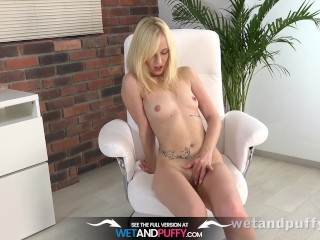 First Orgasm - Sweet Teen Learns How To Cum