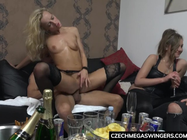 Swedish Teen Fucked Party