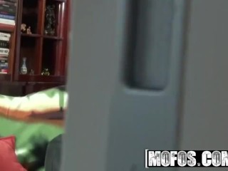 MOFOS - Caught  My Neighbor Does Anal and I caught them on Hidden camera