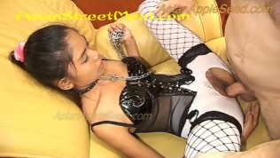 Asian Street Meat XXX  Gob Fucked Anal Latex Girl