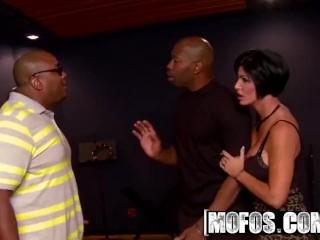 MOFOS - Hot milf Shay Fox likes rap and Big black cock