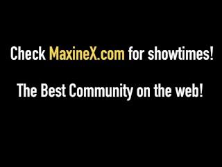 Maxine-X Makes Cuckold Husband Watch Her Fuck Porn Star Cock