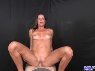 MILF Trip – Big shot of cum to the face for athletic MILF – Part I