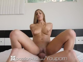 PASSION-HD Exchange Student TRIES Big American Dick