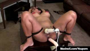 Asian Milf Maxine X Bound & Banged By Scott Rhodes!