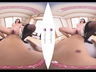 VRBangers Young Japanese Gets Penetrated by a Big Dick and Creampied VR PORN