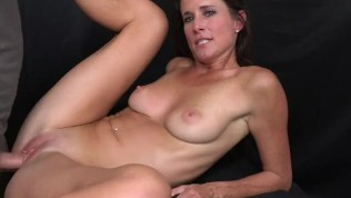 MILF Trip - Big shot of cum to the face for athletic MILF - Part 2