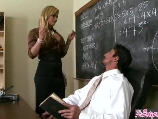 Twistys - Hot blonde Shyla Stylez wants the principals cock