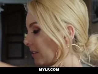 Milf Lesbian Seduces Straight Girl