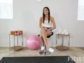 Fit18 - Emily Willis - 51kg - I Creampie A Flexible Former Ballerina