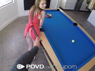 POVD Wet Wild Fuck On The Pool Table