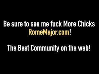 Black Stallion Rome Major Slams Ginger Bush Fallon West!
