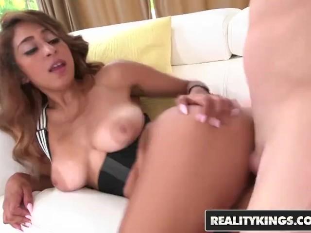Reality Kings - Cute Latina Teen Sarai Shows Off Her Big Tits