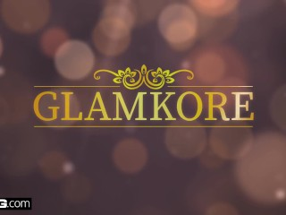 Glamkore - Czech big tit babe Angel Wicky gets anal pounding