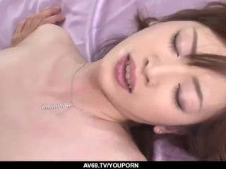 Serious sex in the ass with anal babe Kanon Hanai - More at 69avs.com