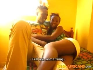 Big Booty African Girlfriend Homemade Porn
