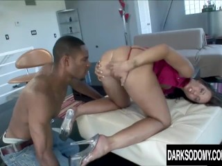 Slutty Kelly Devine Loves Getting Her Ass Eaten and Fucked by BBC