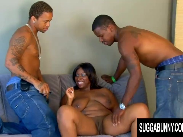 Ebony Sucks White Dick Public