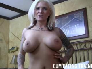POV Cum Eating And CEI Fantasy Porn