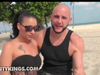 Reality Kings - Amateur beach sluts fuck in the back seat for money