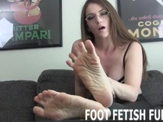 Straight sex/fetish fetish for pov foot
