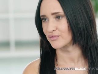 PrivateBlack - 19yo Gina Ferocious Fucks Big Black Cock!