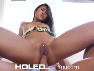HOLED OOZING ass banged and pussy filling with TASTY Thai booty