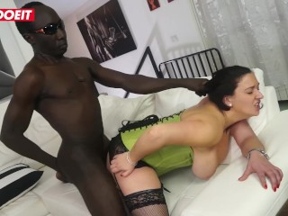 LETSDOEIT – euro babe sexy milf acquires Nailed Intense in her First Sex movie by big black cock