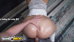 Bangbros - Hot Blonde Maid Alexis Andrews Gets Her Big Ass Fucked ...
