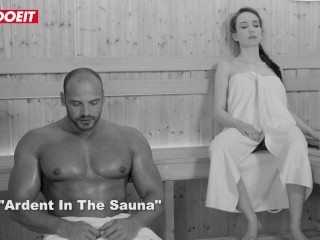 LETSDOEIT - Petite Russian Babe Drilled By Big Cock at The Sauna