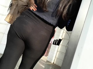 Indian Girl In Tight Jeans Ass Butt