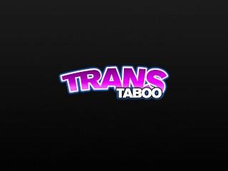 LETSDOEIT - Smoking Hot Blonde Tranny Gets Fucked By Bad Boy