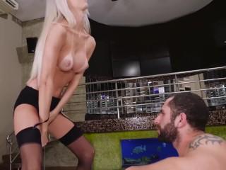 LETSDOEIT - Kinky Tranny Seduces and Fucks Sugar Daddy