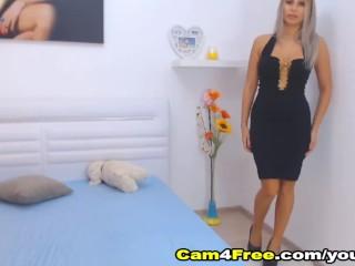 Seductive Blonde Hottie Having Sex With Her Boyfriend