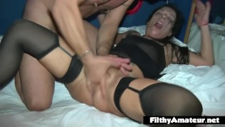 Worn out and squirting in private club