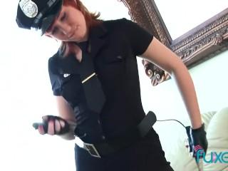 Maggie Osinov female police officer