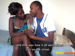 Cock/hd/real african couple fucking hardcore